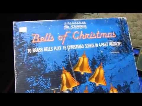 MR CHRISTMAS LIGHTED MUSICAL BELLS PRODUCT TEST FOR EBAY