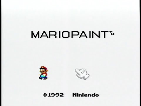 Let's Play 30 Years of Mario Pt.41 - Mario Paint