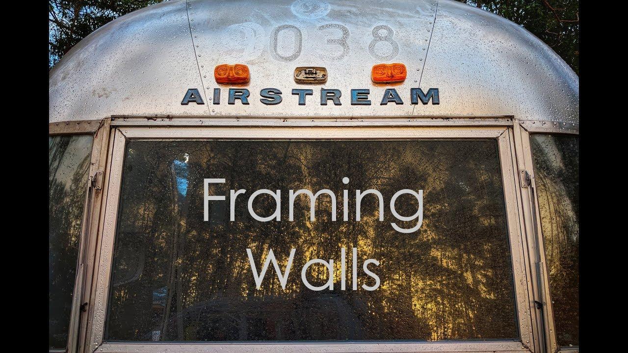 Framing Airstream Walls