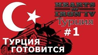 Прохождение Hearts of Iron 4 - Османская Империя №1 - Турция готовится к войне