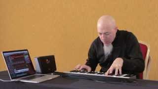 Jordan Rudess plays SampleTank 3 in Italy