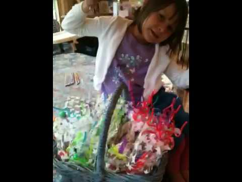 Ava's party goody bags