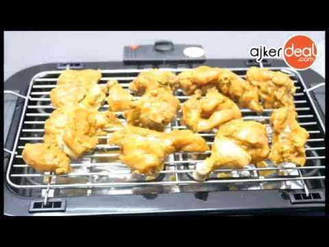 How to use BBQ grill maker | Electric BBQ grill machine