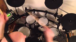 Phil Collins - I Wish It Would Rain Down (Roland TD-12 Drum Cover)