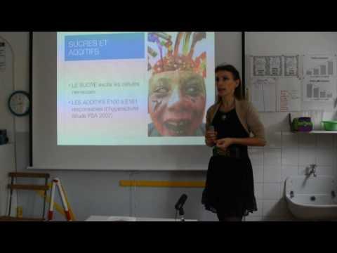 Conférence de Frédérique Chataigner à l'école Montessori