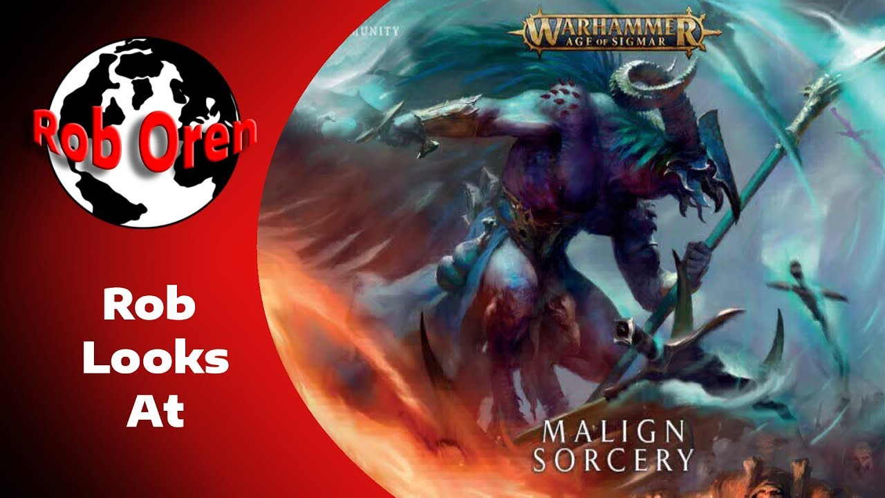 Age of Sigmar: Malign Sorcery | Table Top Miniatures | Miniature Market