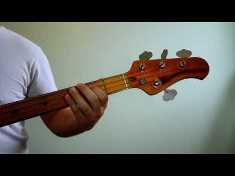 Warren G ft. Nate Dogg - Regulate ( Bass Cover )