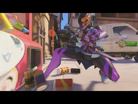 Thumbnail: Overwatch - Sombra the Cleaner Lady