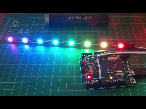Quick Project: WS2812B RGB Colour LED Pixel String