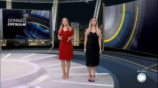 DOMINGO ESPETACULAR MOSTRA IMAGENS EXCLUSIVA DA TRAGÉDIA DE BRUMADINHO