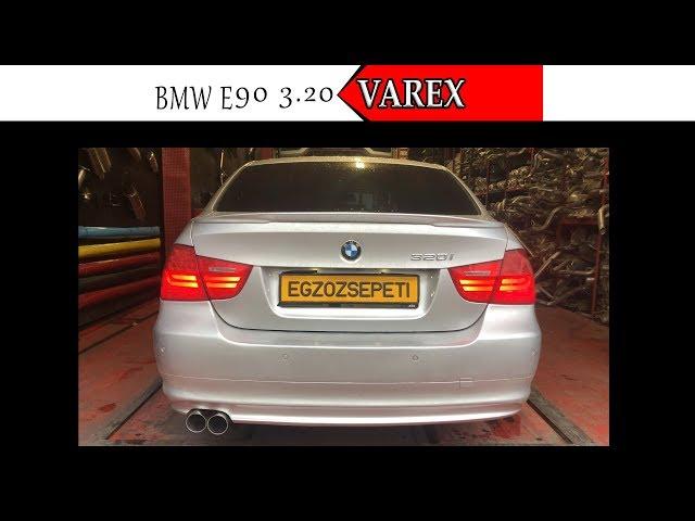 BMW E90 3.20 KUMANDALI VAREX EGZOZ SESİ