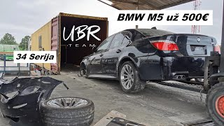 UBR Team: BMW M5 už 500€ (34 serija)