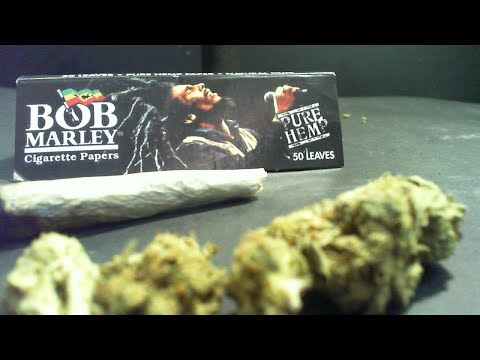 Certified Pothead – Rolling Paper Review – Bob Marley Pure Hemp Papers