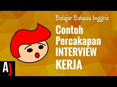 Contoh Percakapan Bahasa Inggris saat Interview Kerja (JOB INTERVIEW)