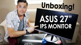 Asus 27 Inch Monitor Unboxing