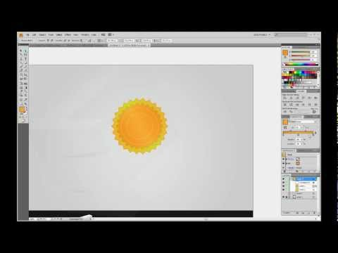 Create a prize icon with Adobe Illustrator. Tutorial (HD)