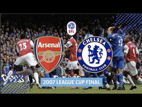 Fiery Arsenal v Chelsea League Cup Final in Full!