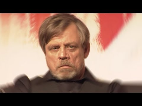 Mark Hamill RUINS A Star Wars: The Last Jedi Cast Interview