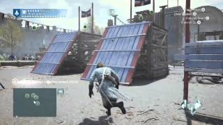 Assassin's Creed Unity Tournament Flags Parkour Tutorial