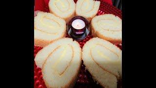 Making Thick Creamy Swiss Roll  / Swiss Roll Baking / সুইস রোল বেকিং
