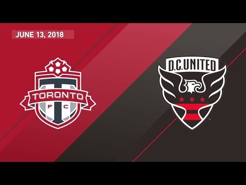 Match Highlights: D.C. United at Toronto FC - June 13, 2018