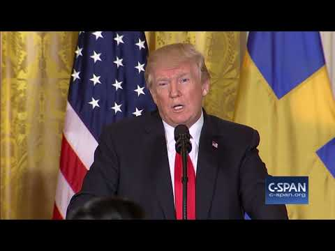 President Trump answers questions on North Korea and White House Staff (C-SPAN)