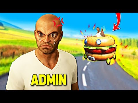 I Ram Admins With Burger... GTA 5 RP
