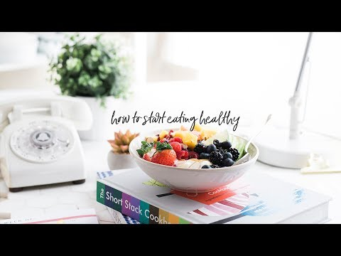 How to Start Eating Healthy - 3 Easy Nutrition Tips