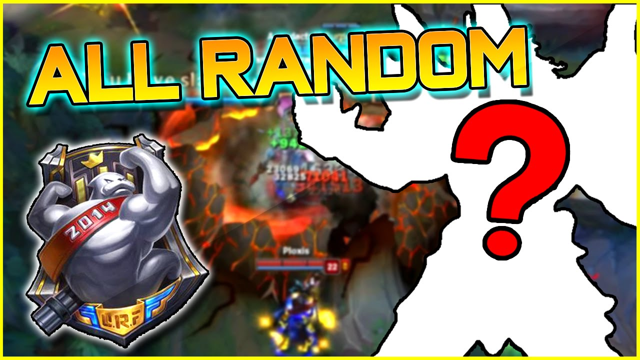 Download ALL RANDOM URF MODE!! | League of Legends