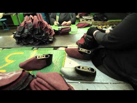 Работа Томского завода резиновой обуви