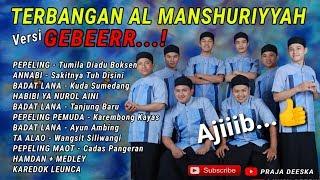 Gambar cover Full Lagu TERBANGAN Al-Manshuriyyah versi Geboooyyy...!