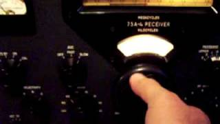 Collins 75A 4 receiver One of the best 1950