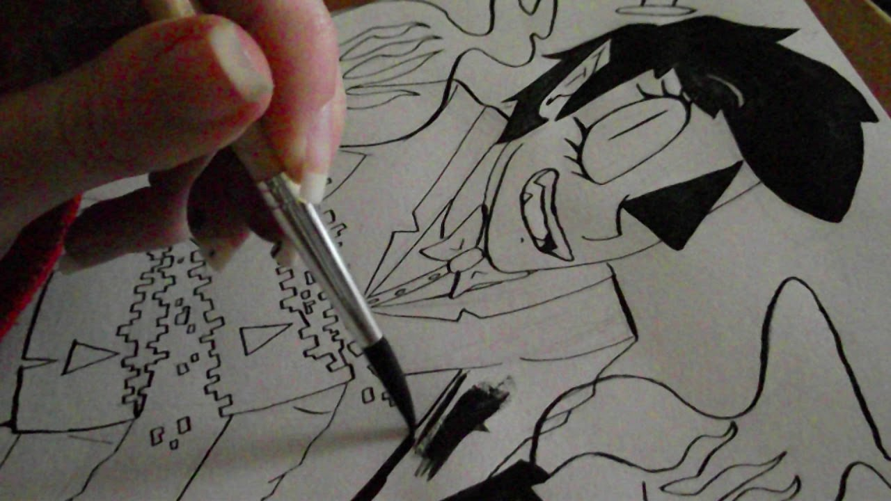 Inktober day 26 | Bill Cipher Human - Gravity Falls | Speedpaint