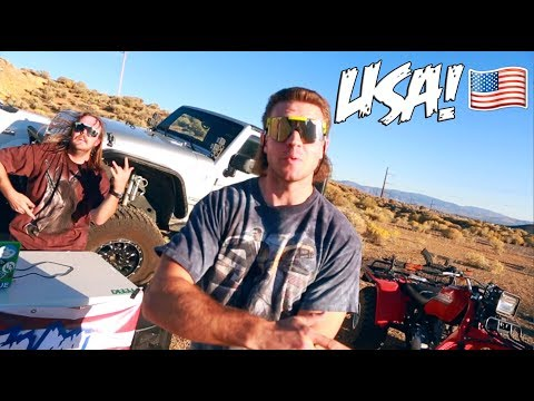 The Most American RAP VIDEO in History!! (Feeki - Way Up)
