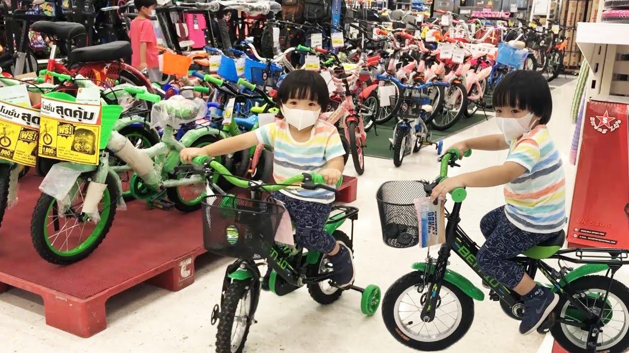 น้องปลาวาฬ l ซื้อจักรยานในห้างบิ๊กซี