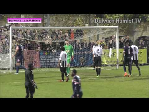 Dulwich Hamlet 3-1 Tooting & Mitcham, London Senior Cup Quarter-Final, 06/04/17 | Match Highlights