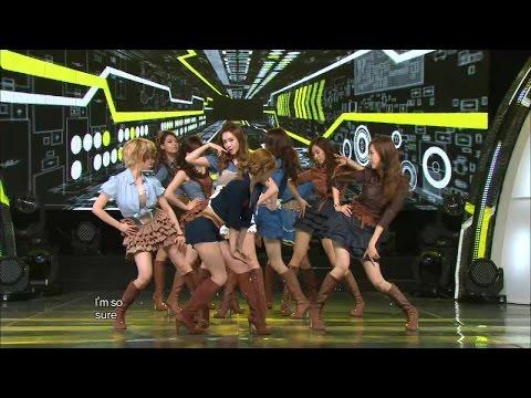 【TVPP】SNSD - Mr.Taxi, 소녀시대 - 미스터 택시 @ Comeback Stage, Show Music Core Live