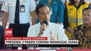Gambar cover Presiden: 2 Pasien Corona Meninggal Dunia