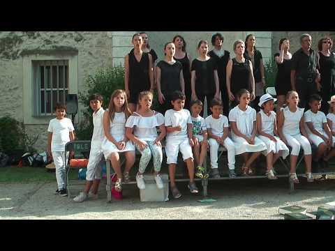 La chorale de l'école de musique