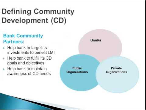 Defining Community Development for CRA