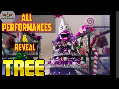 Masked Singer Tree All Performances & Reveal | Season 2