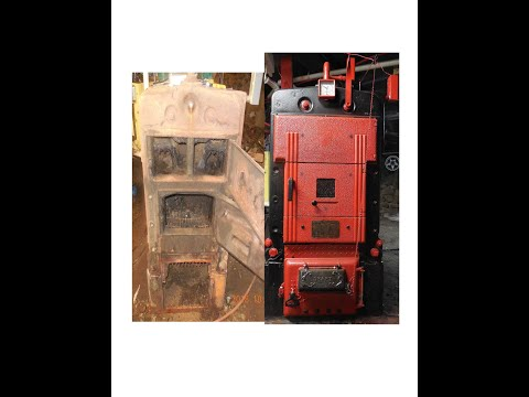 2018-12-04 - EXTREME RECYCLING OF ANTIQUE WOOD BOILER