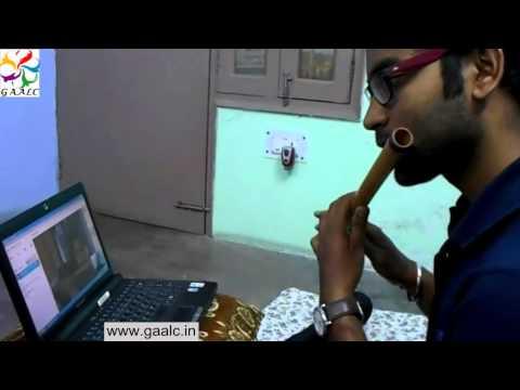 Flute Beginners Lessons Online Guru India Free Video Flute Training Instructor Teacher