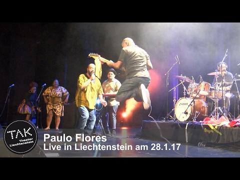 Paulo Flores - live in Liechtenstein 28.1.17