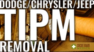 TIPM [Dodge, Chrysler, Jeep] Removal and Solution (2020)