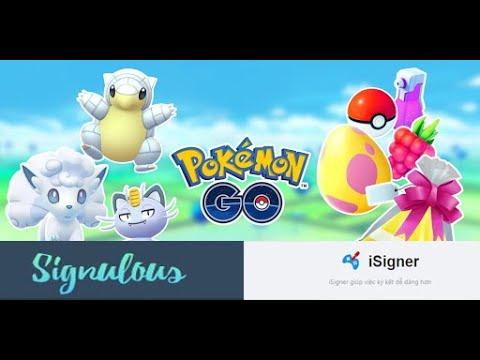 HarryDang Pokemongo Cách mua và cài đặt ipogo (pokemon go) với iphone mà không cần PC