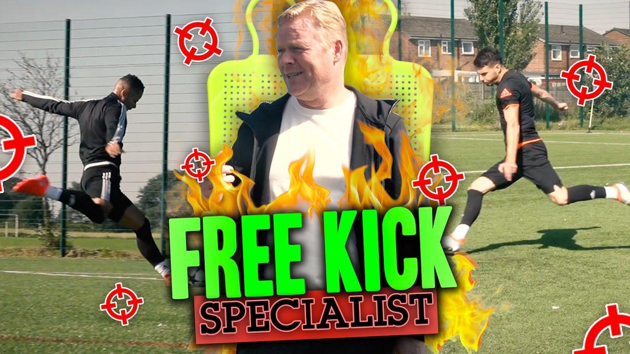 HOW TO TAKE THE PERFECT FREEKICK! ft  RONALD KOEMAN