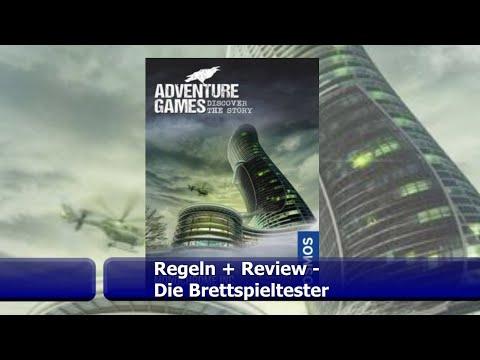 Adventure Games Die Monochrome AG von KOSMOS - Brettspiel - Review - Die Brettspieltester