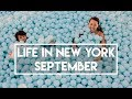 Life in New York - September (Drake concert, Color Factory, rowing in Central Park)