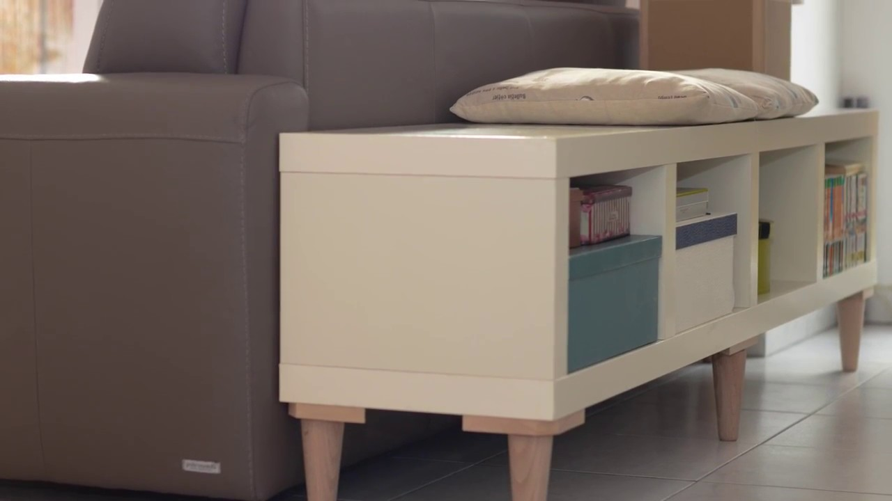 Meuble Tv Colonne Ikea ikehack convertir une colonne en meuble bas